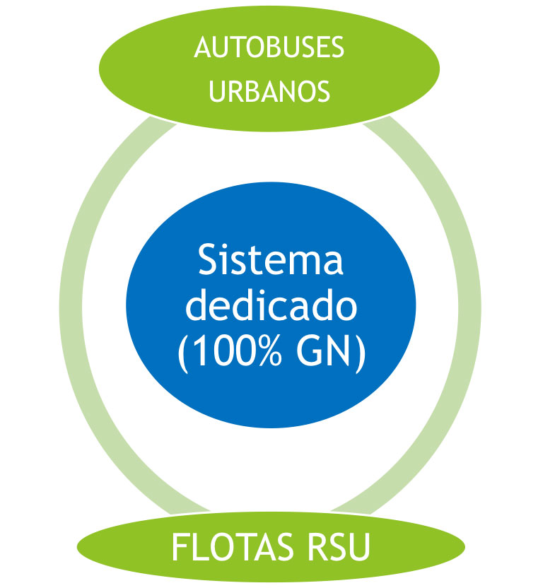 Sistema Dedicado (100% GN)